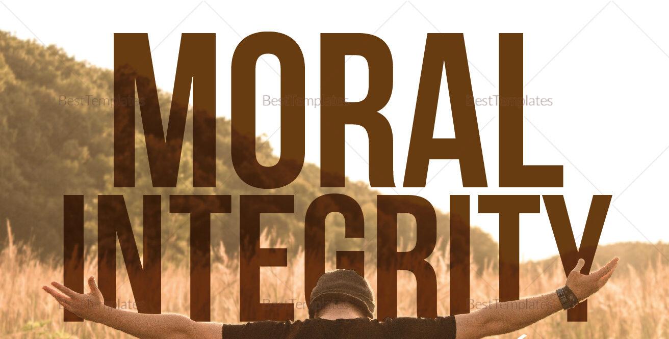 Moral Integrity in a Fallen World